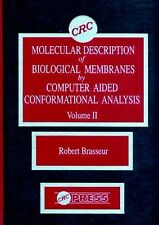 Molecular Description of Biological Membrane Components by Computer Aided Confor