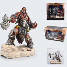 "NEW WORLD OF WARCRAFT STATUE ORGRIM DUROTAN LORDS of WAR 8.7"" TOY ACTION FIGURE"