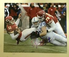 Bjoern Woerner Signed Indianapolis Colts 8 X 10 Photo