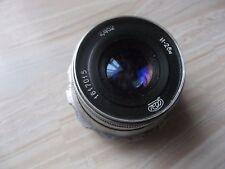 INDUSTAR-26M 2.8/52 cm SILVER Soviet Rangefinder Lens M39 Leica