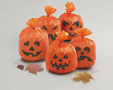 20 x Halloween Hanging Pumpkin leaf Bag Party Decorations Prop FREE P&P
