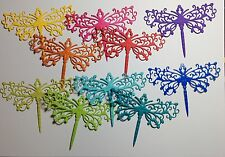 New Tonic Rococo Dragonfly Die-Cuts (Brights) 10 Pieces