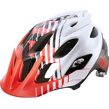 Fox Flux Savant Red Helmet Size L/XL RRP £69.99