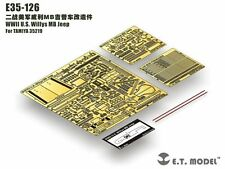 ET Model 1/35 #E35126 Willys MB Jeep Detail Up Set for Tamiya 35219