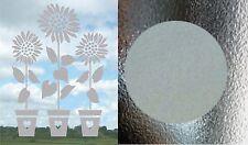 Sunflower Helianthus Frost Etch Stained Glass Effect Window Sticker Transfer