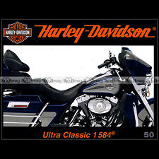 HARLEY-DAVIDSON N°50 ★ 1584 ELECTRA GLIDE ULTRA CLASSIC ★ '1 OFF' TONY KENDRICK