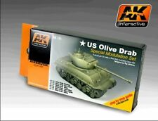 AK00131 - AK Interactive - Olive Drab Color Modulation Set