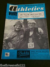 ATHLETICS WEEKLY - PAUL NIHILL & RON LAMB - DEC 4 1971