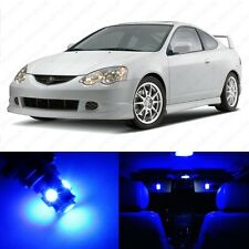 6 x Ultra Blue LED Interior Lights Package For 2002 - 2006 Acura RSX US Seller