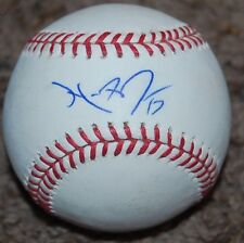 MIKE FONTENOT AUTOGRAPHED AUTO SIGNED OML BASEBALL CHICAGO CUBS ~ GIANTS ~ NATS