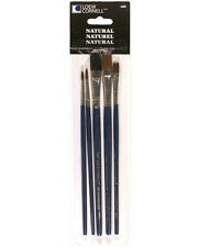 LOEW CORNELL NATURAL 5 PIECE BRUSH SET 680