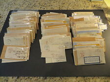 300+ New York State Stampless Covers Postmaster Free Frank Signatures 1810s-60s