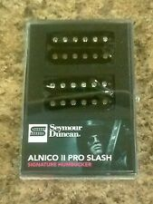 New Seymour Duncan Slash Alnico II Pro Humbucker Pickup Set Black