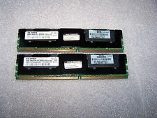 8GB Genuine HP PC2-5300F DDR2  667MHz Fully Buffered FBDIMM (2x 4GB) for Servers