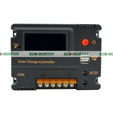 10A LCD Solar Charge Controller Auto Regulator Temperature Compensation Battery