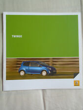Renault Twingo range brochure Jun 2009 South African market