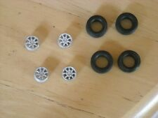 "1/43rd scale Minilite 15"" wheels with no centre bolt by K&R Replicas"