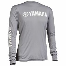 Yamaha Pro Fishing Moisture Wicking Long Sleeve T-Shirt XL Grey CRP-14LSM-GY-XL
