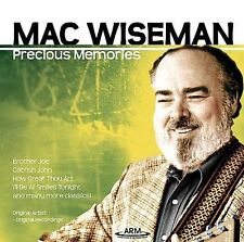 Precious Memories, Wiseman, Mac,Very Good, ### Audio CD with artwork-complete,Au