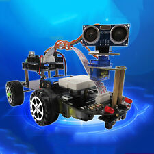 Fantastic Smart Car Robot Kit Telecontrol Bluetooth Line Track For Arduino FS945