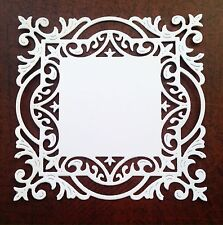 Large Cheery Lynn Decorative Frame Die Cuts - White (pack Of 6)