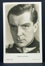 Viktor de Kowa - Actor Movie Photo - Film Autogramm-Karte AK (Lot-G-8354