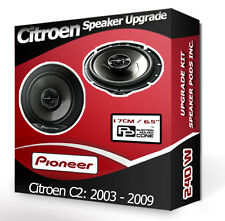 Citroen C2 Front Door Speakers Pioneer car speakers 240W