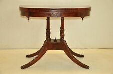 Gorgeous Duncan Phyfe Style Mahogany Flip Top Card Game Table c. 19th cent.