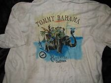 RARE- EXTREME MINT! TOMMY BAHAMA XXL PARADISE OUTFITTERS SILK SHIRT - ONLY 1!!!