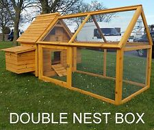 CHICKEN HEN HOUSE COOP POULTRY ARK RUN BRAND NEW RABBIT HUTCH