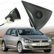 Wide Degree CCD Front View Camera Logo Embedded Waterproof for VW Golf 2013-2016