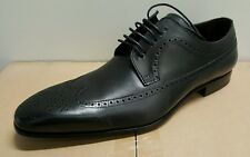 Mezlan Men's Genuine Leather Wingtip Trameza Oxford, Black, Size 11-M Nwt $ 450