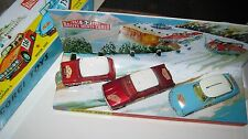 CORGI GS 38-321-322-323   MONTE CARLO ORIGINAL GOOD BUT  PLAYWORN CARS SUPERB