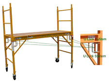 """Set of 10 New Scaffold Rolling Tower 6' H 29"""" X 6' aka Perry or Baker Scaffoding"""