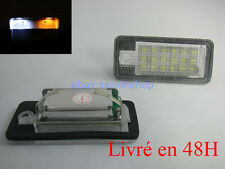 Module Plaque LED Audi A4/S4  2001-2008 Pack Ampoule LED Plaque Blanc