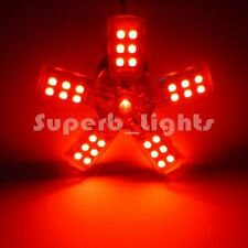 2x 3157 3156 3057 T25 RED 41-SMD TAIL BRAKE STOP SPIDERLITE LED CAR LIGHT BULB A