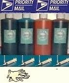 32oz 4/ 250ml / 8oz b/c/m/y refill ink kit Brother LC25 LC31 LC41 LC51 LC61 LC65