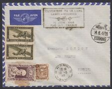INDO-CHINA, 1948. First Flight C12, 150,235, Hanoi - Kunming, China