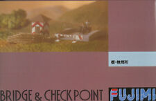 FUJIMI BRIDGE & checkpoint NUOVO 1/76