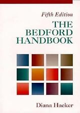 LN! Bedford Handbook for Writers 5th Edition by Diana T. Hacker 1998 PB