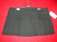 NEW WITH TAGS LADIES SIZE 8 SEXY SCHOOL MINI SKIRT FANCY DRESS FUN CROSSDRESSER