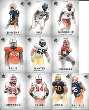 2012 SP AUTHENTIC  NICE (10) CARD ROOKIE LOT SEE SCAN AND LIST FREE COMBINED S/H