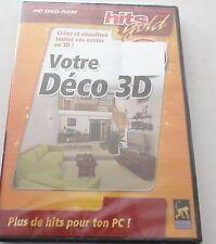 PC DVD ROM -        VOTRE DECO EN 3 D -------- ref. 247