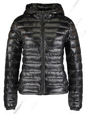 NEW WOMENS QUILTED COAT PUFFER HOODED LADIES JACKET PARKA SIZE 8 10 12 14 16