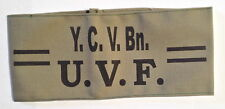 UVF Ulster Volunteer Force YOUNG CITIZEN VOLUNTEER BATTALION OFFICER Armband
