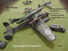 Trommsdorff d-6000 b-1 1/72 Bird models resinbausatz/resin Kit