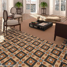 HARROW MOSAIC GEOMETRIC PATTERN VICTORIAN STYLE WALL & FLOOR TILES RRP £48.95