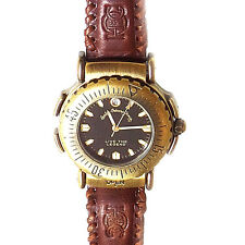 Harley Davidson Flip Up Compass Watch, Live The Legend HD Logo Leather Band $149
