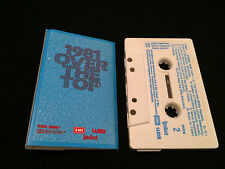 1981 OVER THE TOP AUSTRALIAN CASSETTE TAPE VARIOUS ARTISTS COMPILATION