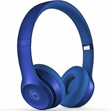 NEW Beats by Dre Solo2 On Ear Headphones - Blue Sapphire